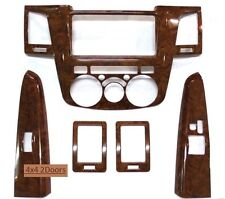 TOYOTA HILUX VIGO Pickup 2 Doors '05-'12 Interior Wood Dash Trim Kit Left Hand