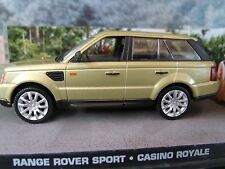1/43 RANGE ROVER SPORT James Bond CASINO ROYALE 007 series  diorama
