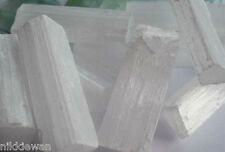 SELENITE CRYSTALS WANDS RAW CLEANSING GEMSTONE 10KG !! CHEAPEST BULK OFFER !!