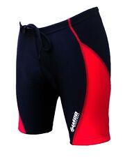 ZIMCO Women's Cycling Biking Cycle Short Bike Shorts Padded Black/Red ZM184