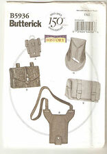 Butterick Pattern B5936 Making History - Gaunlet Water Bottle Carriers Pouches