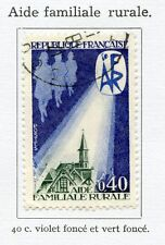 STAMP / TIMBRE FRANCE OBLITERE N° 1682 AIDE FAMILIALE RURALE