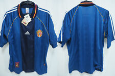 1998-1999 Spain Espana Jersey Shirt Camiseta Away Adidas FIFA World Cup L BNWT
