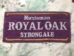 Huntsman Royal Oak Strong Ale Beer Towel Very Rare (Brewery Folded)