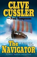 The Navigator (The Numa Files) Paul Kemprecos Clive Cussler Hardcover dj full