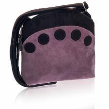 Rose Pink Cotton Cross Over Bag Spot design - Fair Trade BNWT