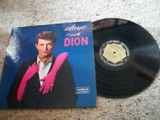 Dion LP-Alone With Dion-1960-Laurie-Gatefold-No Photos-VG+