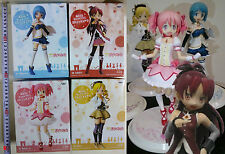 BOX DMGD Banpresto,PUELLA MAGI MADOKA MAGIKA DX Figure#1Kaname+Mami2Sayaka3Kyoko