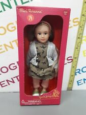 "Our Generation 6"" Mini Arianna Doll NEW box creased"