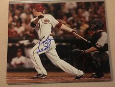 Todd Frazier Cincinnati Reds Autographed And Indcribed 8x10 Photo