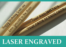 Personalized drum sticks 5A, high quality maple wood, Custom Bespoke Gift