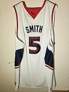 Adidas Authentic Jersey Atlanta Hawks Josh Smith White Throwback Jersey size 56
