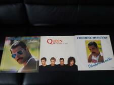 3 x FREDDIE MERCURY/QUEEN Mr Bad Guy/I Was Born To Love You/I Want It All LP/45