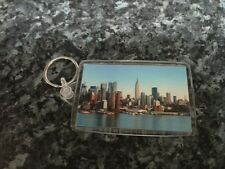 New York City Skyline Jumbo Keyring. NEW. Travel, Americana. USA