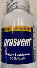 PROSVENT Ultra Blend Supports Prostate Health 60 caps.  SEALED Men's Supplement