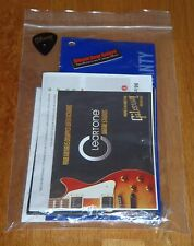 Gibson Les Paul Guitar Case Candy Basic Manual Warranty Wrench Parts Min-ETune T