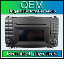 Mercedes Vito Radio Estéreo Bluetooth Reproductor De CD, W639 MF2830 A1699002000