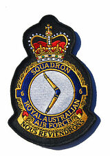 RAAF 6 Squadron Uniform Patch Crest New