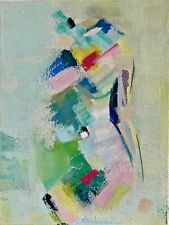 """Abstract in Acrylic """"Female Nude #24"""" ORIGINAL"""