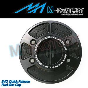 For BMW S1000RR 2019-2020 19 20 Black Quick Release CNC Tank Fuel Cap