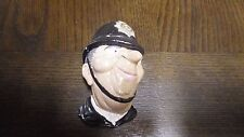 CHALKWARE~ENGLISH BOBBIE 1988 POLICE OFFICER VICTORIAN BOBBY WITH HAT HEAD PIECE