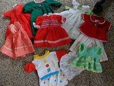 Mixed Lot OF 12 Vintage  MEDIUM Size Doll Clothes -