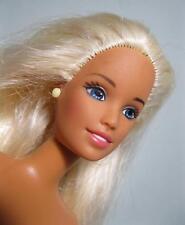 Nude ADULT TEEN Slender Body SKIPPER doll BEACH LONG GOLD/BLONDE HAIR Jewelry