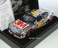 2011 Greg Biffle #16 3M Honoring Our Heroes 1/24 White Gold ELITE Diecast #011
