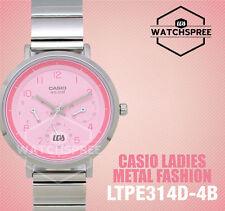 Casio Ladies' Standard Analog Watch LTPE314D-4B LTP-E314D-4B
