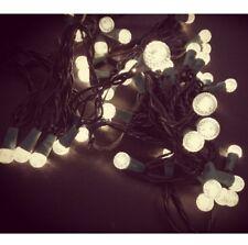 50er LED motivo Guirnalda de Luces Iluminación FIESTA Navidad Blanco cálido