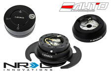 NRG Steering Wheel Short Hub SRK-160H + Black Gen3 Quick Release + Shine Lock