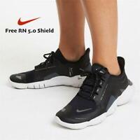 Nike Free Run 5.0 Shield Women's Running Sneakers BV1224 Black Silver size 8 9