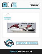 KAWASAKI STX DI 1100 MAROON GRAY Seat Skin Cover 99 00+ FREE EMAILED PDF MANUAL!