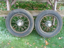 austin 7 wheels and axle beam austin 7 trailer project military
