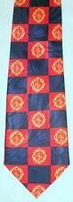 NEW! Fire Dept Symbol Fireman Firefighter Red Blue Novelty Necktie #1170-L