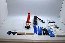 iPhone 7 Bianco Kit di Riparazione Schermo Frontale, Filo, Colla, Torcia UV