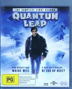 QUANTUM LEAP The Complete First 1st Season 1 One 2x BLU-RAY NEW/SEALED Free Post