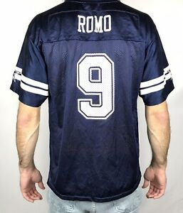 Dallas Cowboys Tony Romo Jersey Youth Size XL Kids NFL Mens S Small Football