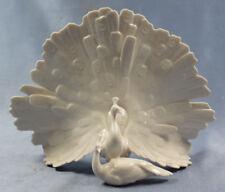 Pfau Vogel porzellanfigur Vogelfigur  porzellan figur Hutschenreuther peakock