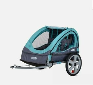 Instep Bike Trailer for Toddlers, Kids, Single and Double Seat, 2-In-1 Canopy...