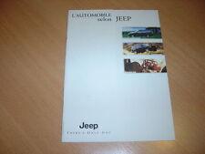 CATALOGUE gamme Jeep & Chrysler de 1998