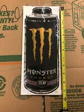 "MONSTER ENERGY 11.5"" decal sticker"