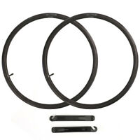 "2x 26"" inch Inner Bike Tube 26 x1.75 1.95 2.125 Bicycle Rubber Tire Interior BMX"