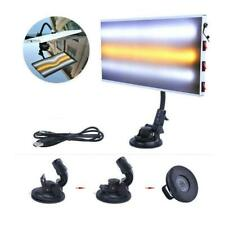 PDR Paintless Dent Repair 3-Strips LED Light Lamp Auto Body Hail Removal Tool UK