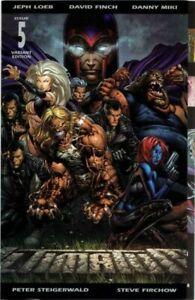 Ultimatum (2009) #5 of 5 VF+ David Finch Gatefold Variant Cover