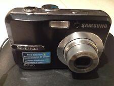 Camera Samsung S760 Digital 7.2mp Black