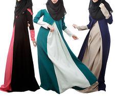 Ladies Party Muslim Dress Cocktail Jilbab Kaftan Islamic Arab Long  Dresses
