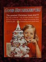 GOOD HOUSEKEEPING magazine December 1965 Tom Tichenor Robert A. Knowlton