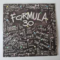 Formula 30 Compilation Vinyl LP Records Double Album Various Artists 1983 EX/EX