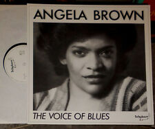 ANGELA BROWN THE VOICE OF BLUES LP
